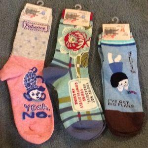 Blue Q socks